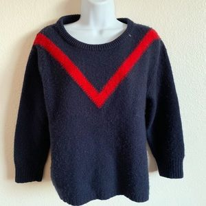 J.Crew | Chevron merino wool sweater